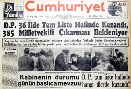 İbretle incelenmesi gereken bir iktidar hikayesi: 1950-1960