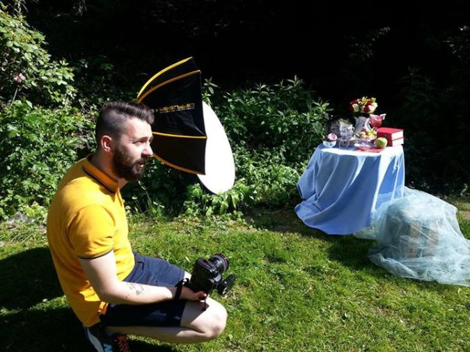 Photo shooting - Cover of the CIOPORA Chronicle 2014
