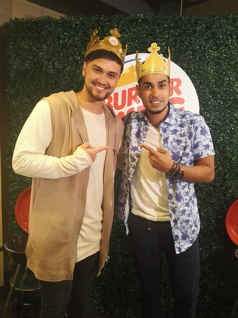 New Burger King endorser Billy Crawford says he waited 19 months to propose
