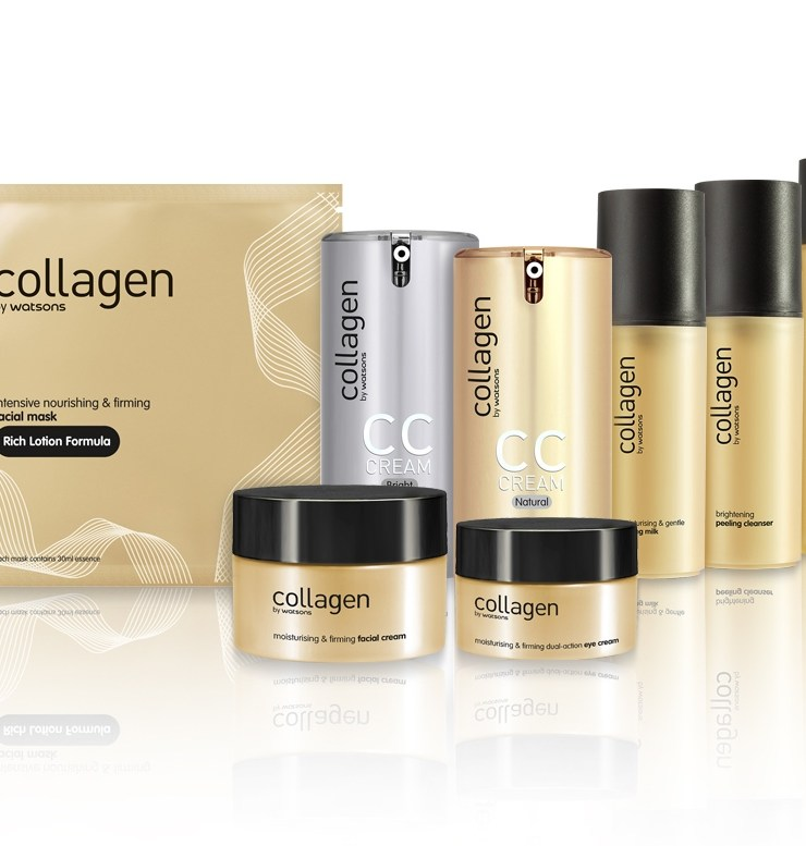 Watsons launches collagen line