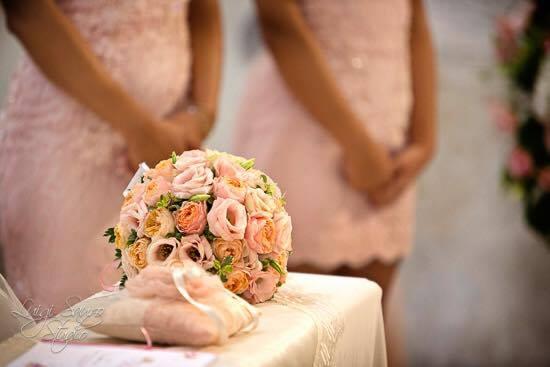 Real Wedding: Michela e Matteo un matrimonio Rosa cipria e oro