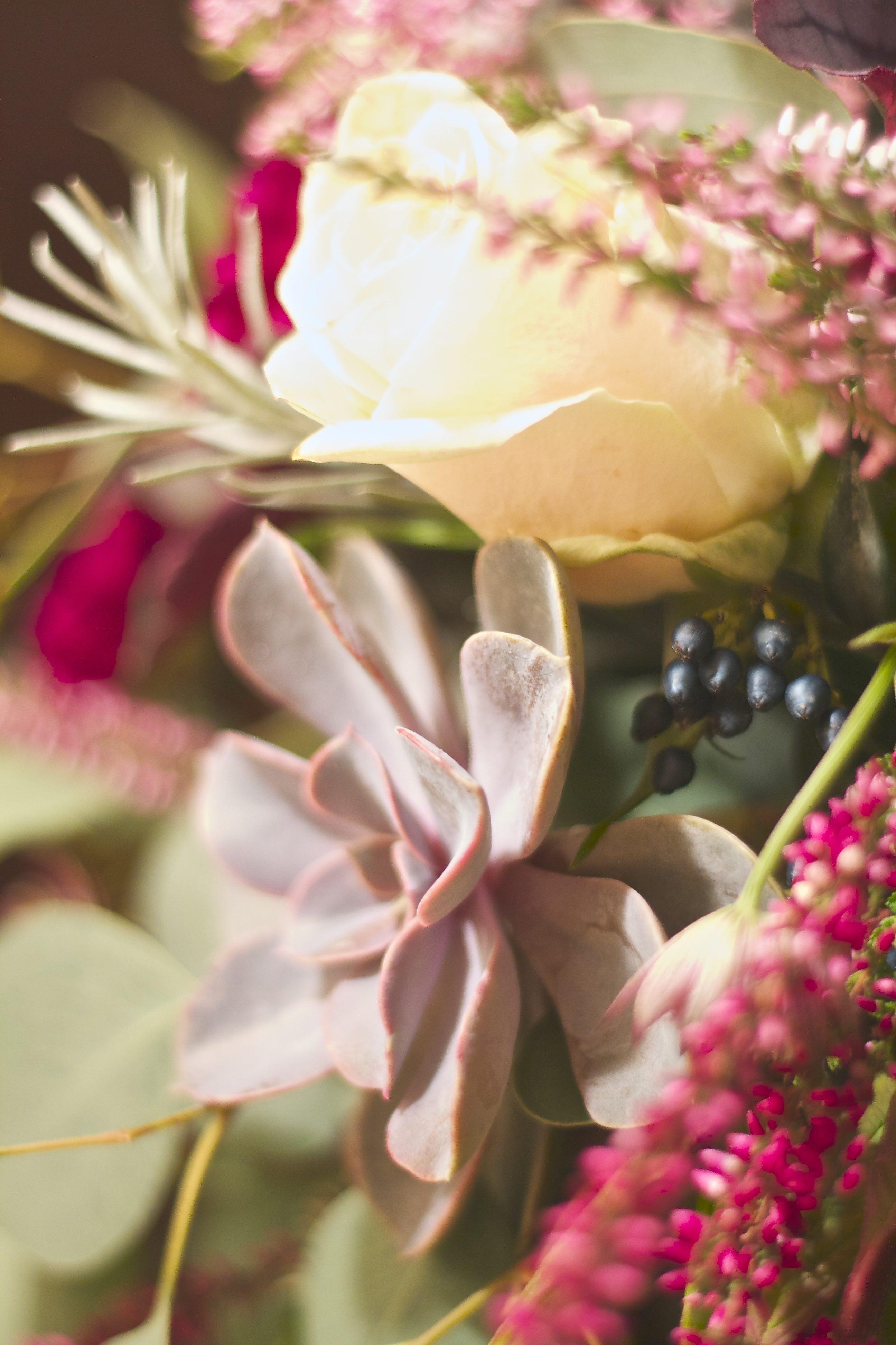 Rame e frutti di bosco, un matrimonio incantato