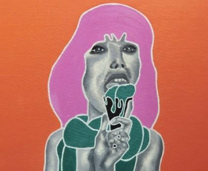 """Nude 6"", 2009 Öl auf Leinwand, 40x50 cm"