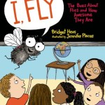 Cover of book showing acartoon of a housefly talking to a class full of children