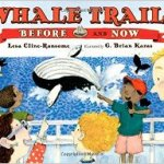 Cover of book shows whale watching cruise