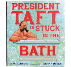 President Taft in a bathtub.