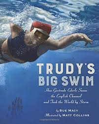 cover of book shows Trudy swimming from an underwater point of view