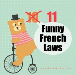 11 weird funny French laws in France