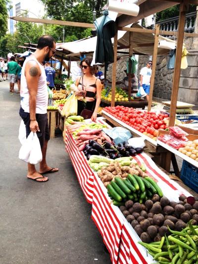 Market in Rio de Janeiro