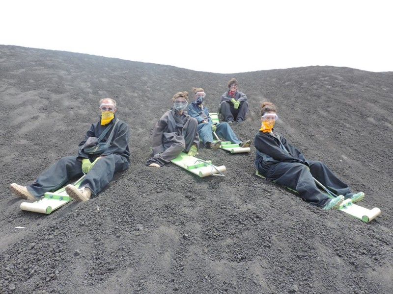 Volcano Boarding Crew