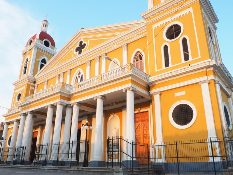 Cathédrale de Granada au Nicaragua