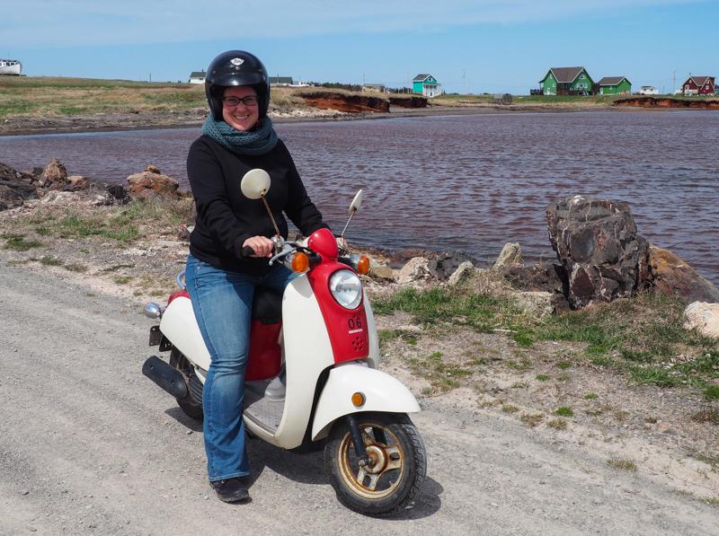Location de scooter aux îles de la Madeleine
