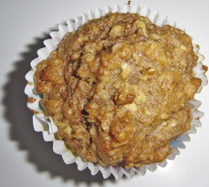 Applesauce and Oat Muffins