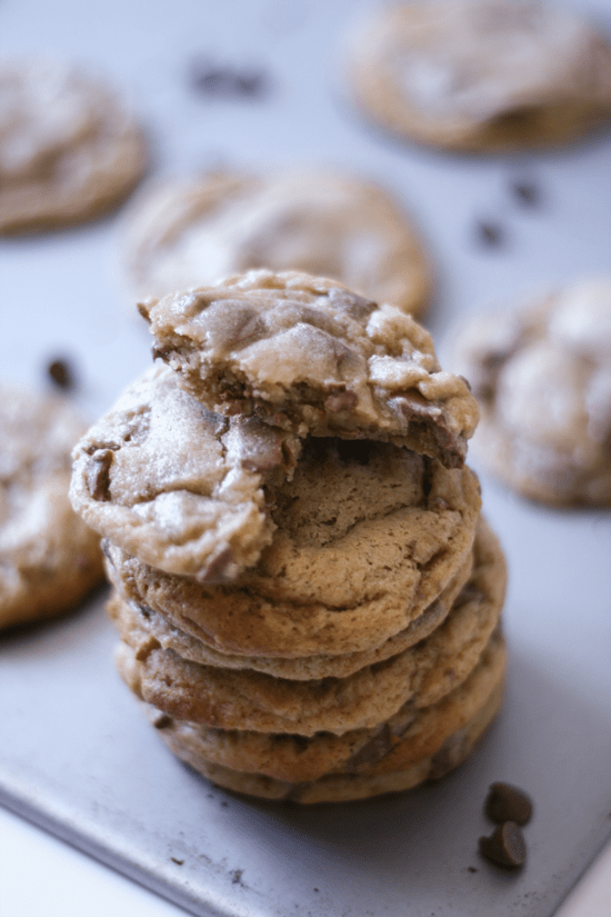 Malt Chocolate Chip Cookies