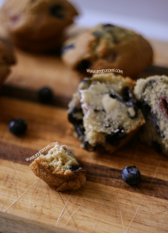 Blueberry and Raspberry Muffins