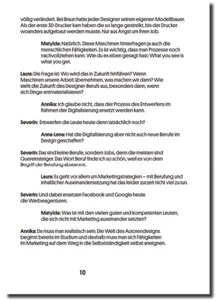 forum brochure