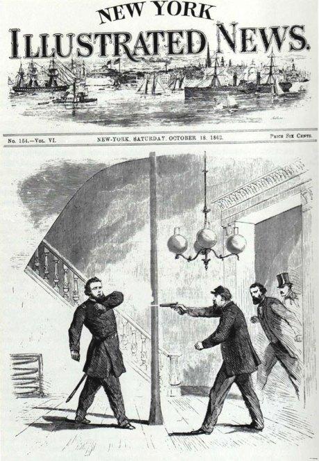 Jefferson S. Davis merekam Banteng Nelson