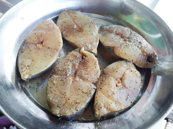 fried sear fish 1