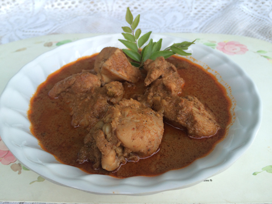 chicken curry dish 1