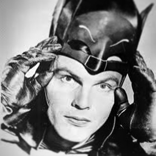 anonimacinefili adamwest batman mask rip dead death hero actor