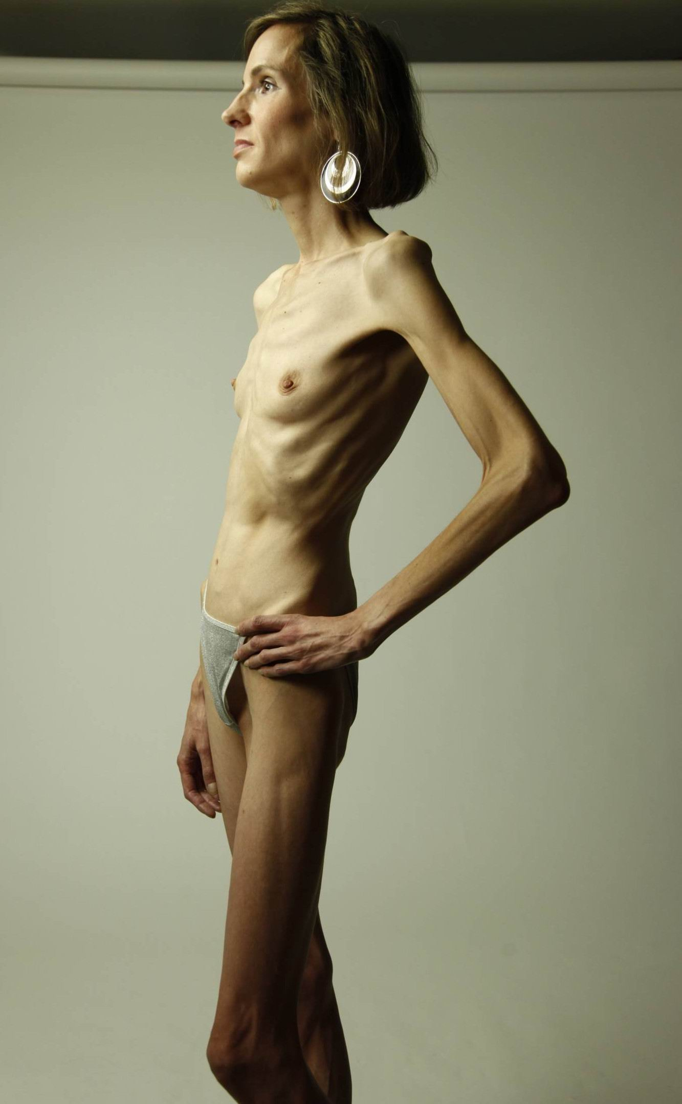 naked Skinny pregnant girls