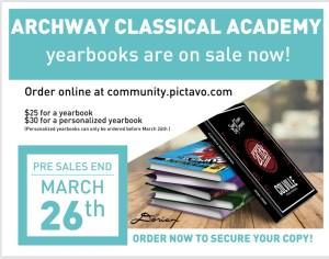Argonaut Yearbook: Pre-order Sales Deadline
