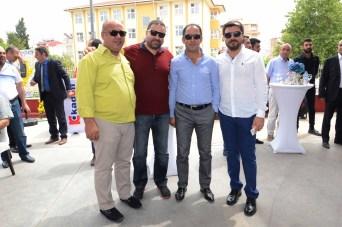 Mehmet İçen,Tuncay Gözüyukarı,Haydar Doğan,Erdal Taze