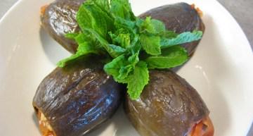 Bulgurlu Taze Patlıcan Dolması