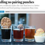 Pulling No Pairing Punches: New Craft Beer Cookbook Article