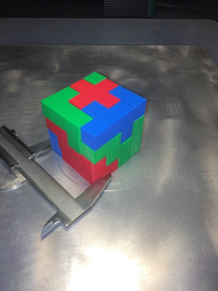 13 piece Bedlam Cube