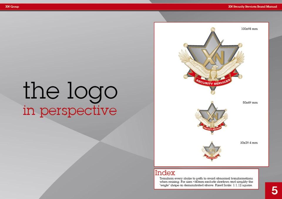 XN Security Logo Manual