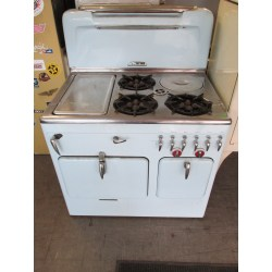 Supreme Robin Egg Blue Chambers Unrestored Stoves Cannon Gas Oven Won T Light Gas Oven Burner Won T Light
