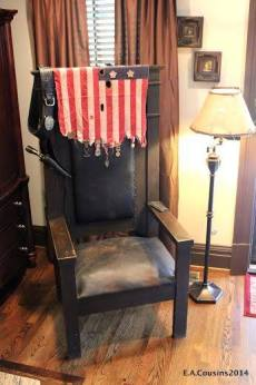 mw - masonic chair, antique archaeology, american pickers, masonic lodge history, robert's western world