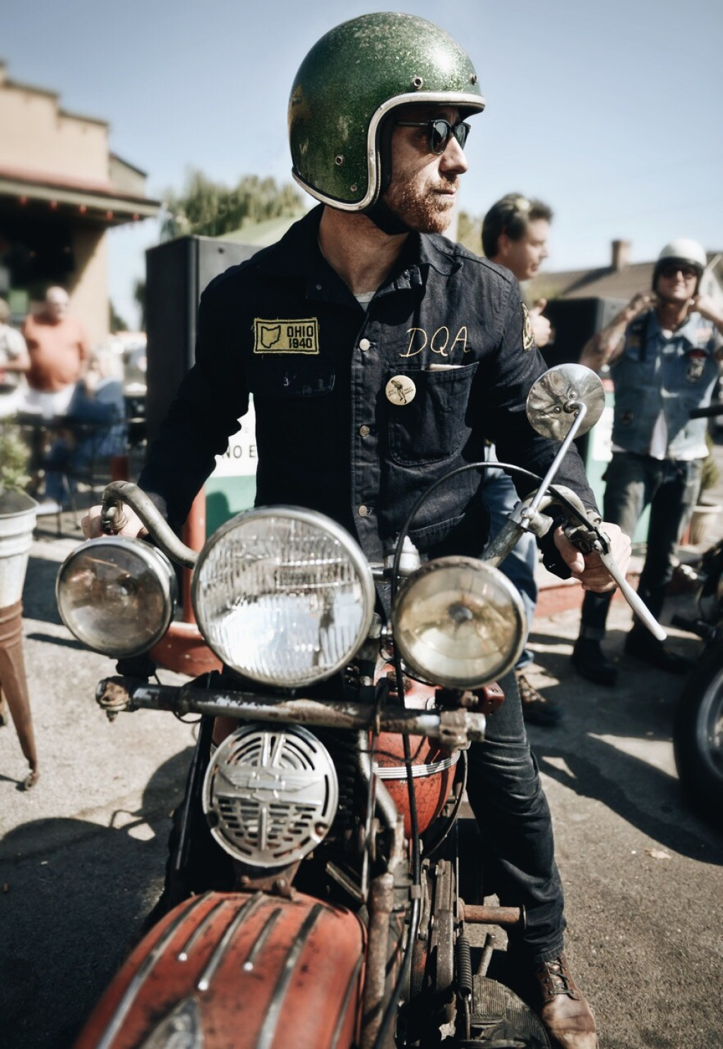 dan auerbach_lucky riders_ Yve Assad,Mike Wolfe American Picker, Two Lanes blog, motorcycle photography,