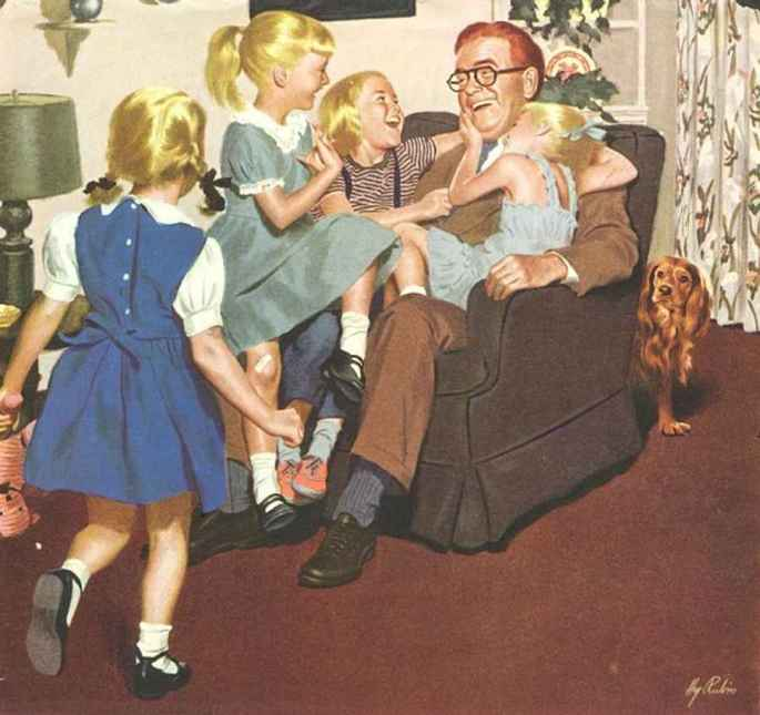 vintage fathers day artwork