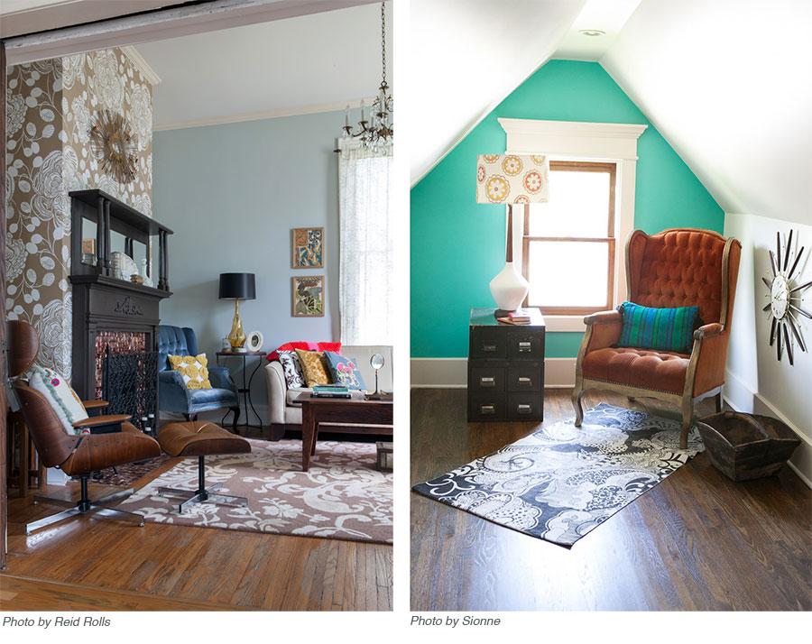Ruthie's interior design work