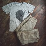 Two Lanes Travel Wear: Bison Tee