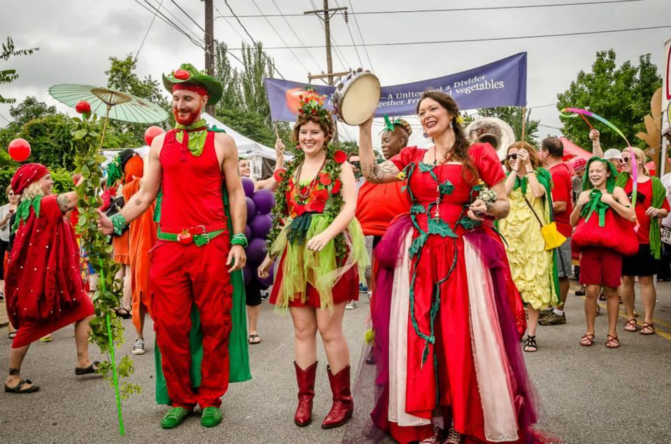 Tomato Art Festival