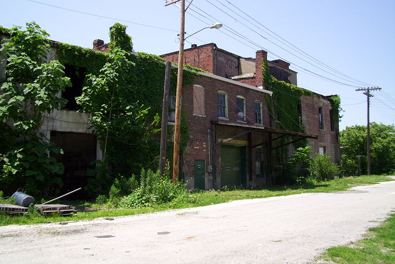 Abandoned building in downtown Cairo, Illinois via MuZemike