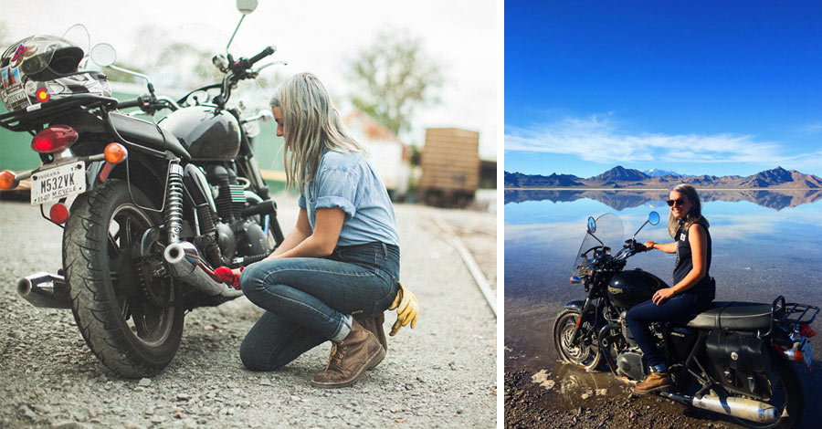 Bonneville Salt Flats and Bike Maintenance