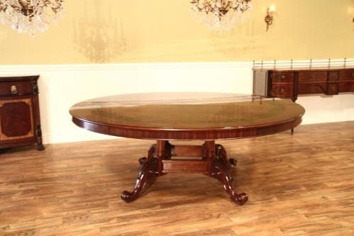 Medium Of Large Round Dining Table