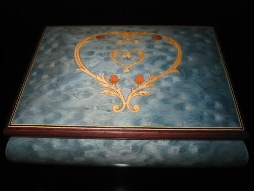 Picture Giglio Asla Sorrento Italy Blue Jewelry Box San Francisco Music San Francisco Music Box Company Clown San Francisco Music Box Company Hummingbird