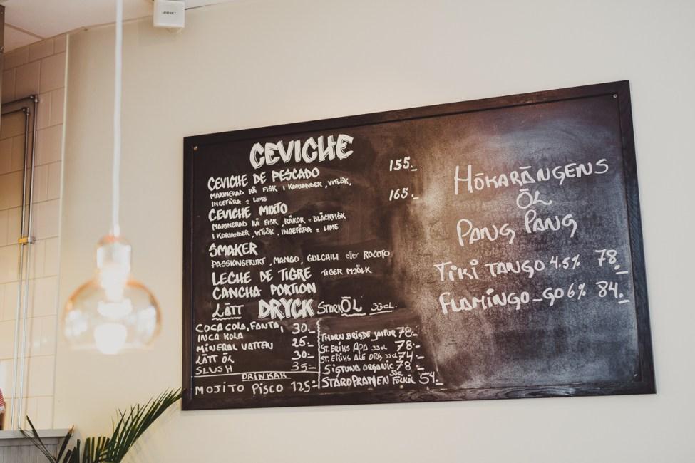 100 dagar med Ceviche