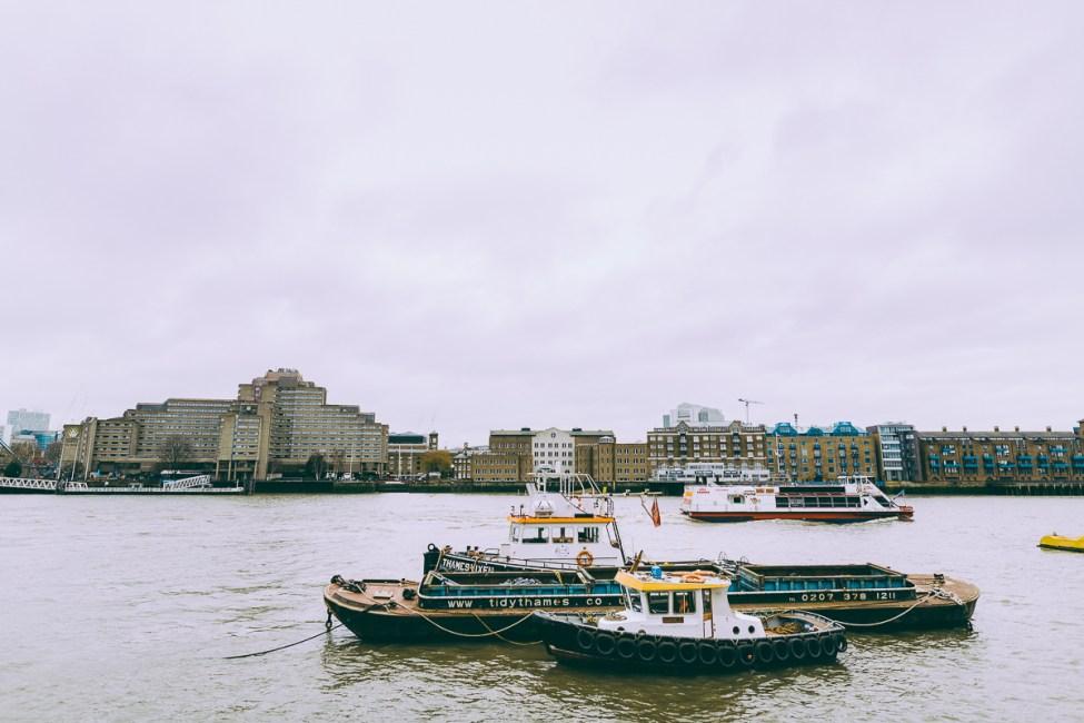 Doften av te och en berättelse om Oliver Twist i St. Saviour´s Dock