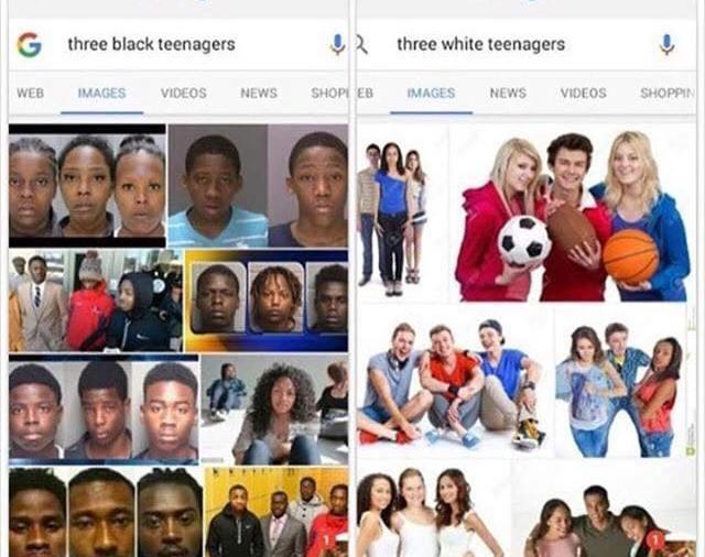 three black teenagers, three white teenagers, antoinespeaks, mugshots,