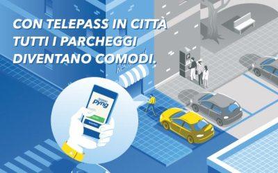 PYNG la nuova App di Telepass che ti fa parcheggiare in città