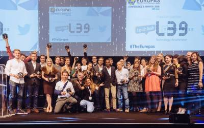 THE EUROPAS AWARDS HONOUR THE BEST TECH STARTUPS IN EUROPE