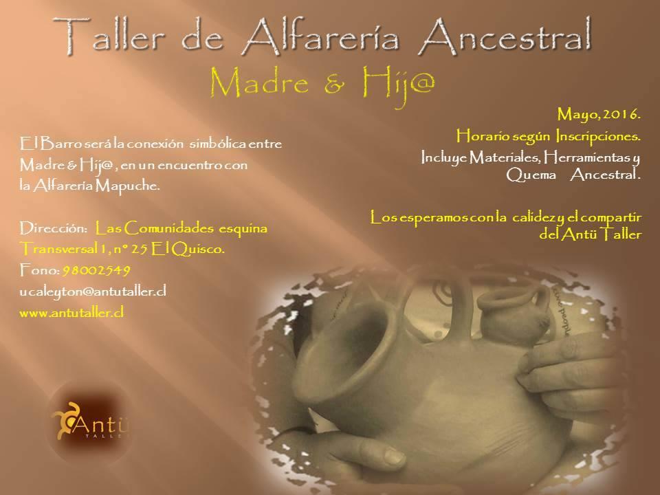 Taller de Alfarería Ancestral, Madre & Hij@
