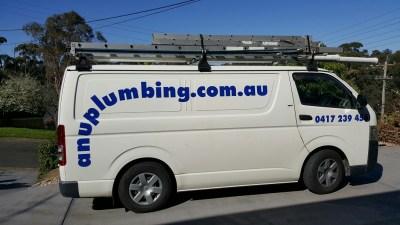 Plumbers Sydney: ANU Plumbing Sydney - Previous work Van 2