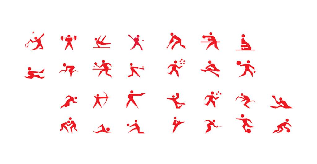 Madrid 2016 Olympics branding.